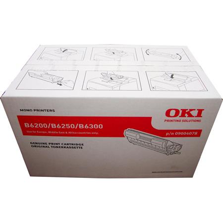 OKI 09004078 Original Standard Capacity Black Toner and Single Drum Unit