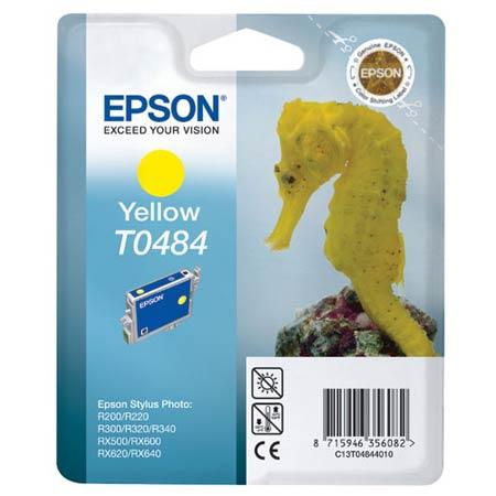 Epson T0484 (T048440) Yellow Original Ink Cartridge (Seahorse)