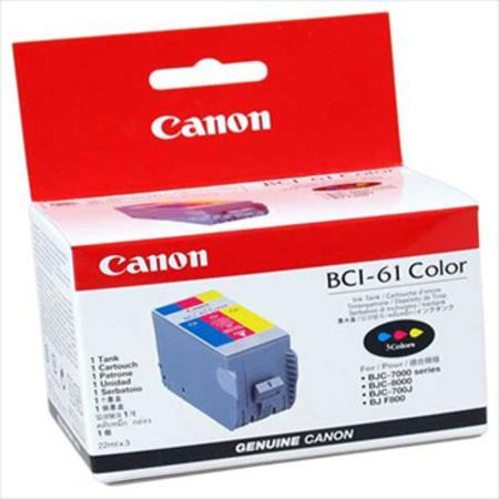 Canon BCI-61 Colour Original Cartridge