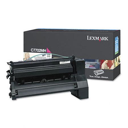 Lexmark C7702MH Original Magenta High Yield Toner Cartridge
