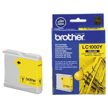 Brother LC1000Y Yellow Original Print Cartridge