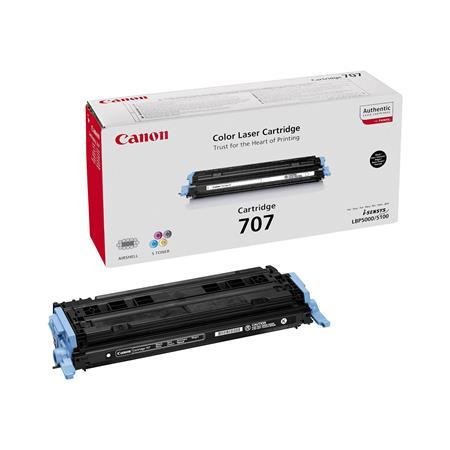 Canon 707Bk Black Original Laser Toner Cartridge