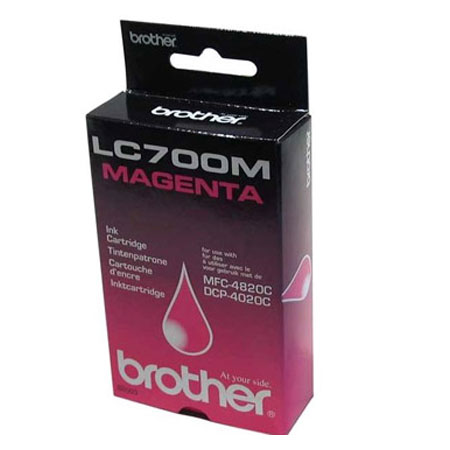 Brother LC700M Magenta Original Print Cartridge