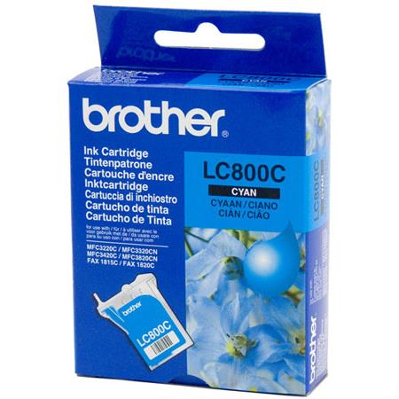 Brother LC800C Cyan Original Print Cartridge