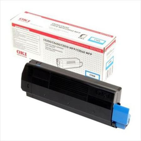 OKI 42127456 Original Cyan High Capacity Toner Cartridge