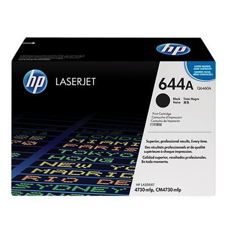 HP Colour LaserJet  644A Black Original Toner Cartridge (Q6460A)