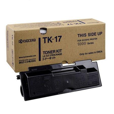 Kyocera TK-17 Original Black Toner Kit