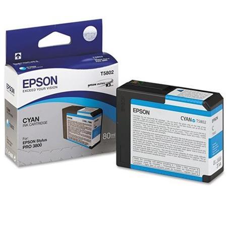 Epson T5802 (T580200) Cyan Original Ink Cartridge