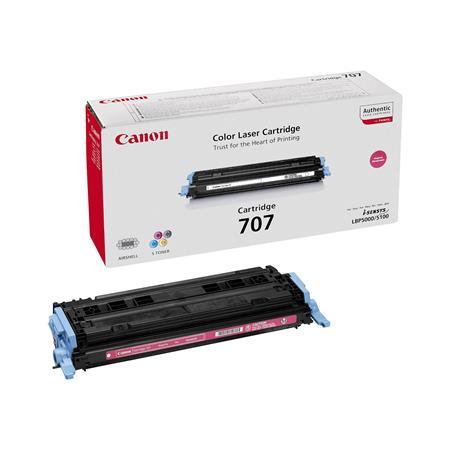 Canon 707M Magenta Original Laser Toner Cartridge