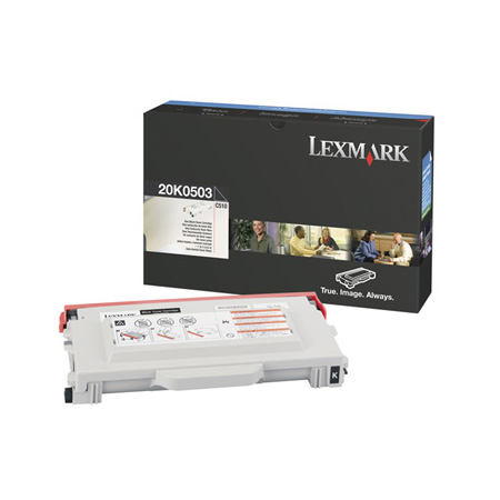 Lexmark 20K0503 Original Black Toner Cartridge