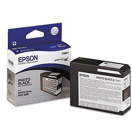 Epson T5801 (T580100) Photo Black Original Ink Cartridge