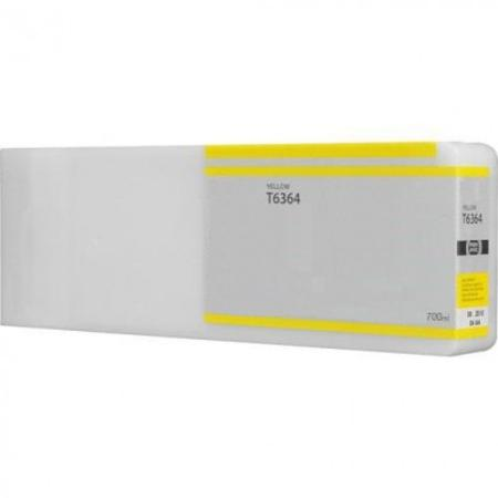 Compatible Yellow Epson T6364 High Capacity Ink Cartridge (Replaces Epson T6364)