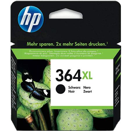 HP 364XL Black Original High Capacity Ink Cartridge with Vivera Ink
