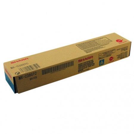 Sharp MX-C38GTC Cyan Original Toner Cartridge