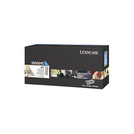 Lexmark 15G031C Original Cyan Toner Cartridge