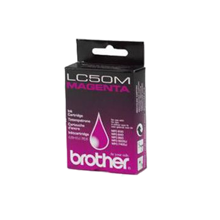 Brother LC50M Magenta Original Print Cartridge