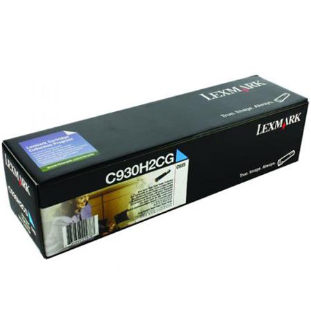 Lexmark C930H2CG Original Cyan High Yield Toner Cartridge
