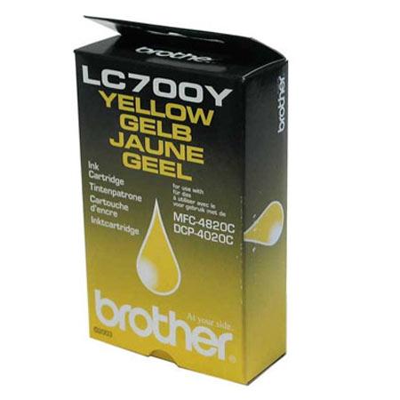 Brother LC700Y Yellow Original Print Cartridge