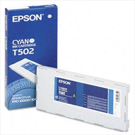 Epson T502 (T502011) Quick Dry Cyan Original Ink Cartridge