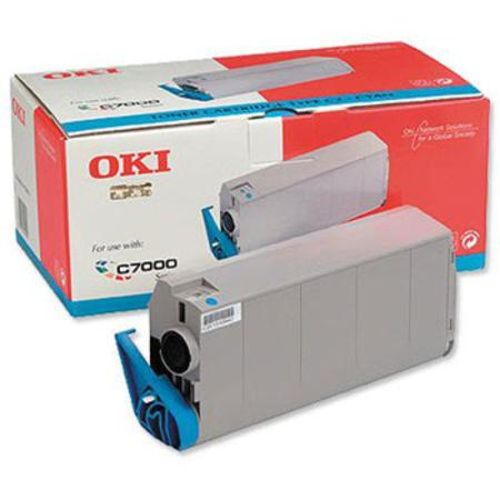OKI 41963007 Original Cyan Toner Cartridge