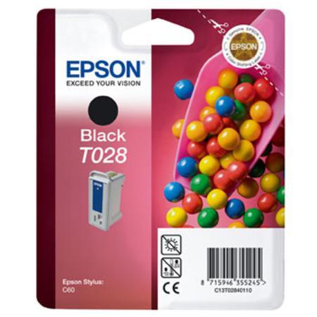 Epson T028 (T028140) Black Original Ink Cartridge (Sweet)