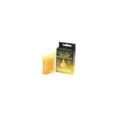 Brother LC02Y Yellow Original Print Cartridge