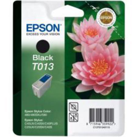 Epson T013 (T013401) Black Original Ink Cartridge (Pink Flower)