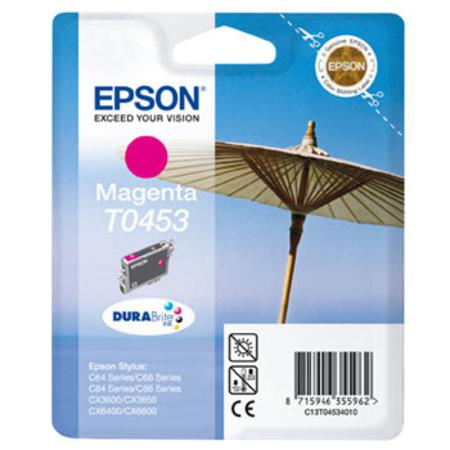 Epson T0453 (T045340) Magenta Standard Capacity Original Cartridge (Parasol)