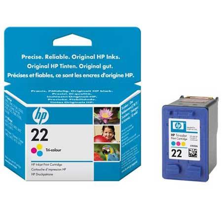 HP 22 Tri-Colour Original Inkjet Print Cartridge