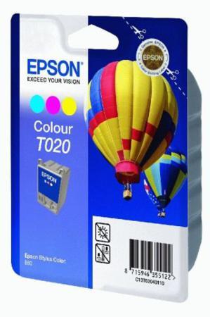 Epson T020 (T020401) Colour Original Ink Cartridge (Hot Air Baloon)