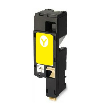 Compatible Yellow Dell 593-11143 High Capacity Toner Cartridge (Replaces Dell W8X8P/5M1VR)