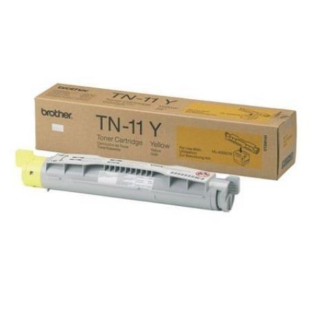 Brother TN11Y Yellow Original Toner Cartridge