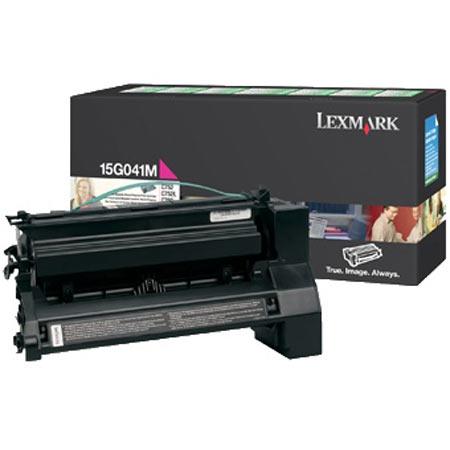 Lexmark 15G041M Original Magenta Return Program Toner Cartridge