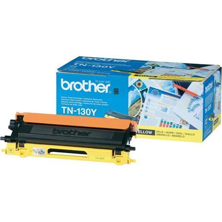 Brother TN130Y Yellow Original Standard Capacity Toner Cartridge