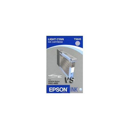 Epson T5645 (T564500) Light Cyan Standard Capacity Original Ink Cartridge