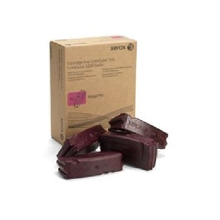 Xerox 108R00830 Magenta Solid Wax Ink (4 Pack)