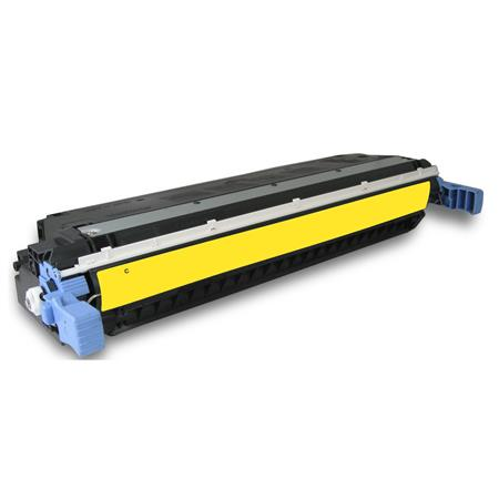 Compatible Yellow HP 502A Toner Cartridge (Replaces HP Q6472A)