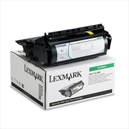 Lexmark 12A0825 Original Prebate Toner Cartridge