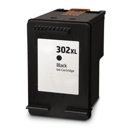Compatible Black HP 302XL High Capacity Ink Cartridge (Replaces HP F6U68AE)