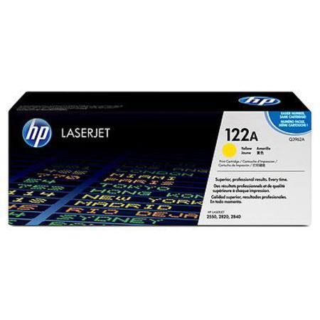 HP Colour LaserJet 122A Yellow Original Toner Cartridge with Smart Printing Technology (Q3962A)