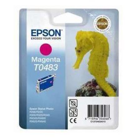 Epson T0483 (T048340) Magenta Original Ink Cartridge (Seahorse)