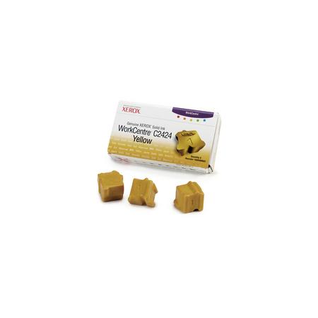 Xerox 108R00662 Original Yellow Ink Sticks (Pack of 3)