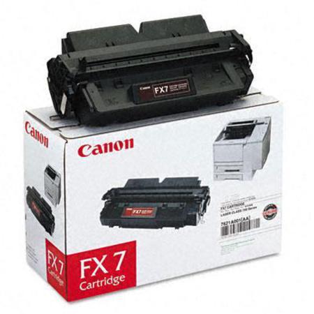 Canon FX7 Black Original Standard Capacity Laser Toner Cartridge