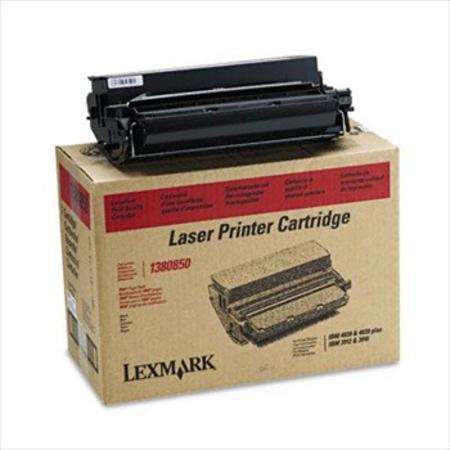 Lexmark 1380850 Original Black Standard Capacity Toner Cartridge