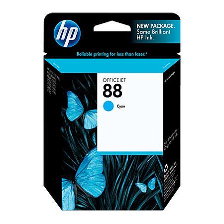HP 88 Cyan Ink Cartridge with Vivera Ink