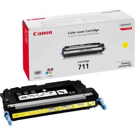 Canon 711Y Yellow Original Laser Toner Cartridge
