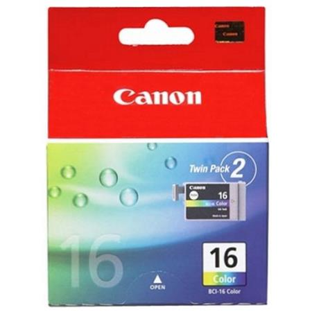 Canon BCI-16C Colour 2 Pack Original Cartridge