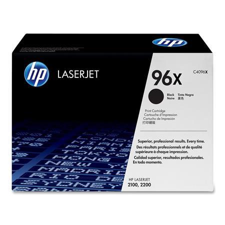 HP LaserJet C4096X Black Original High Capacity Toner Cartridge with Ultraprecise Technology