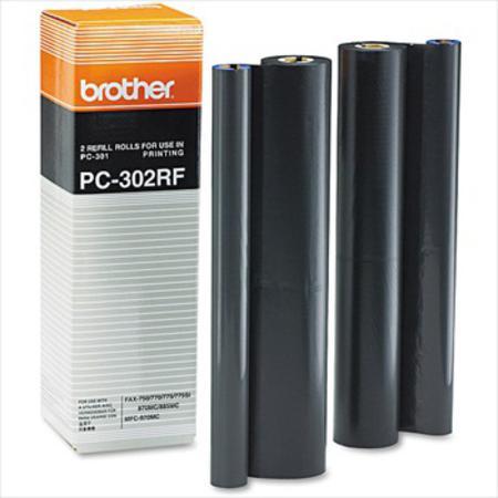 Brother PC302RF Original Ribbon Refills x 2
