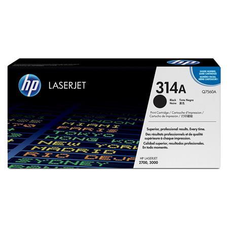 HP Colour LaserJet Q7560A Black Original Toner Cartridge with HP ColourSphere Toner
